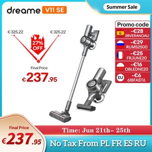 Vacuum Cleaners Dreame V11 SE Handheld Wireless Cleaner Smart Cleaning 25000Pa Powerful Suction LED Display High Quality Carpet Cleane