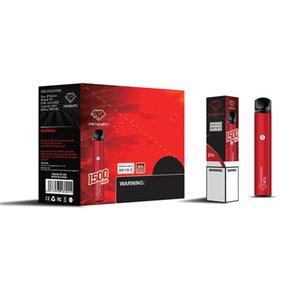 Аутентичные Memento K18 одноразовые устройства POD-устройства Kit 850mah аккумулятор 4,8 мл 1500 слойных слойных картриджей для картриджа для картриджа PAPAPE PEN ручка плюс 100% подлинной