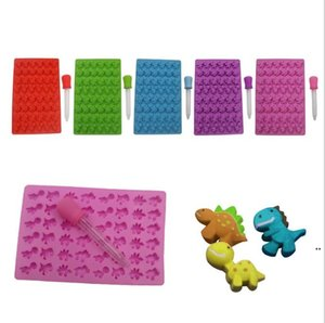 Silicone Mold Dinosaur Cake Jelly Chocolate Baking Mould For Oven Microwave Case Bakeware Maker Mold Kitchen Accessories DHE4826
