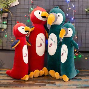 Creative New Lindo Bird Children's Peluche Toys Bed Doll Muñeca Larga almohada para dormir