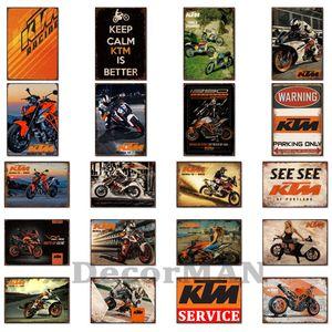 [ Mike86 ] Motor Racing PIN UP Retro Tin signs wall decor Sport Club Bar Iron Painting art LTA-1714 Mix order 20*30 CM Q0304