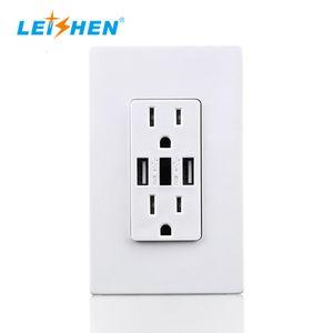 American USB socket USB switch panel socket UL certification