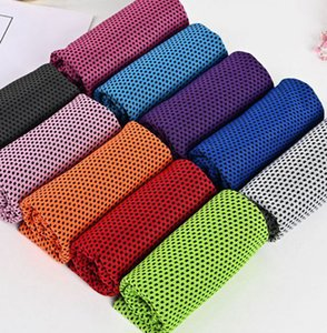 Sports cold towel fast cooling fitness running cooling cold outdoor mountaineering sports wipe towel for Neck Cooling Wrap LJJK2515