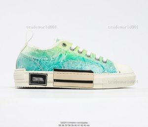 child 2021 Top Quality B22 B23 Casual Shoes High Low Sneakers Oblique Trainers Embroidery Printed Alphabet Canvas Shoe Women Men Stylist