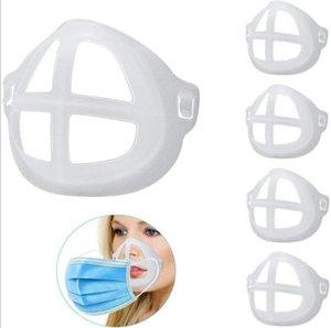 Masque 3D SUPPORT DE SUPPORT DE SUPPORT DE MASQUE PP POUR LA PROTECTION DE LIPTIQUE DE LIPSTIQUE DOUX SOLITIF RESPIRABLE RESPIRABLES RAVEBLABLES MASQUES DE FACE REUTABLE