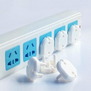 baby universal round hole children anti-shock socket Outlet Covers power hole protection cover W6AR