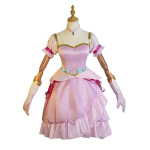 Anime Re Life a Different World from Zero Ram Rem Princess Dress Cosplay Costume Full Set for Halloween Party