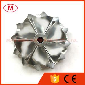 K16 5324-123-2203 47.70 61.98mm 6+6 blades Performance Turbo Milling Billet compressor wheel for Mercedes AMG SL65 5324-970-7703 7706