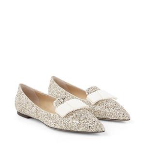 Sexy Lady Ballalla Strass Ballet Flat,Fashion Point Toe Red Bottom Women Sandals Flat,Comfort Bridal Wedding Party Luxury Shoes EU35-43