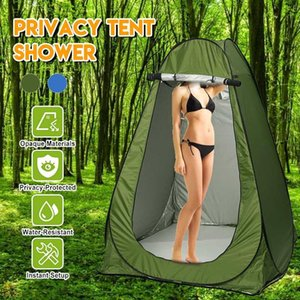 Portable Privacy Shower Toilet Camping Automatic Tent Camouflage UV Function Outdoor Dressing Tent Photography Tent With Bag