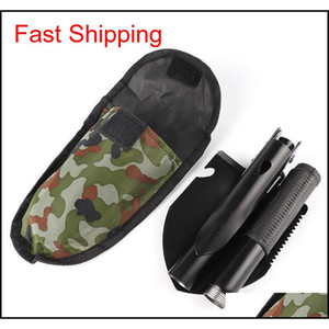 Folding Garden Spade Portable Small Engineer Shovel Fishing Utility Shovel Multi-purpose Outdoor Camping Hor qylEBY homes2011
