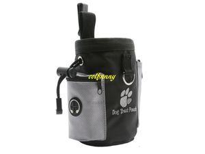 Fast shipping Dog Pet Puppy Obedience Agility 50pcs lot Bait Training Food Treat Pouch Bag Dispenser Snack Reward Waist LTOS