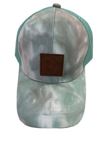 Designer Ball Caps For Women Visors Ponytail Mesh Cowboy Tie Dye Hat Sports Golf Sun Unisex Baseball Cap Brand Hip Hop Hats