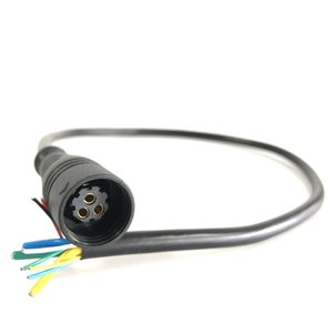 Z916 Motor Cable Connector Female Side 9 Pin with 3 Phrase and 6 Signal Wires Bafang Fat Hub Harness