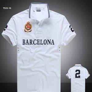 discounted PoloShirt Sleeve T shirt Brand London New York Chicago polo men Dropship High Quality