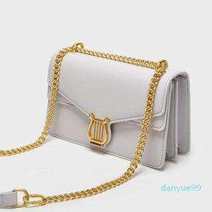 Style Underarm Bag Summer New 2021 Western Female Take To Shoulder Messenger Chain Square Small One Simple
