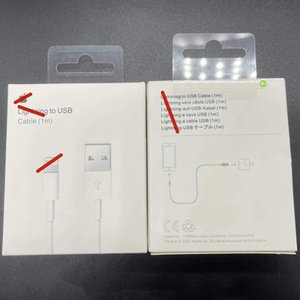 100pcs 7 generations cables Original OEM quality 1m 3ft 2m 6af USB Data Sync Charge phone Cable With retail package