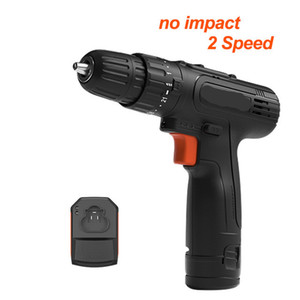 Freeshing Impact Perceuse 12V Set de perceuse sans fil CC Tournevis elecrique 3/8 '' 30n.m Couple sans fil 66 pcs Outils d'alimentation Wood Travail DIY