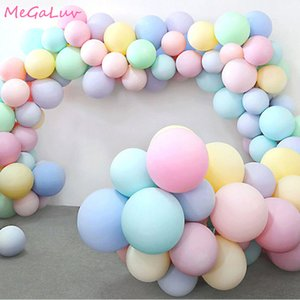 30pcs 5 10 inch Macarons Latex Ballon Birthday Party Candy Balloons Birthday Party Decorations Kids Baby Shower Wedding Golobos