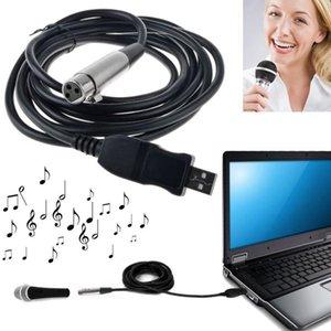 3M USB ذكر إلى XLR أنثى ميكروفون usb ميكروفون ارتباط كابل جديد