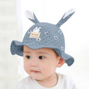 Güzel Toddler Moda Yaz Güneş Şapkaları Çocuk Erkek Kız Baskı Desen Kova Şapka Şapka Güneş Kap Nefes Yaz Şapkalar # 3