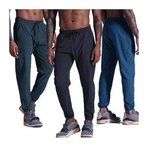 Homens calças correndo respirável formação solta calças ginásio basquete comprido calças home hip hop harem novo casual suecor