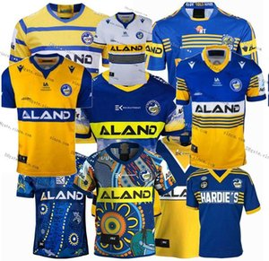 Top Newest 2020 2021 Manly Parramatta Eels Rugby Jerseys 1982 2018 2018 Rugby League Jersey Mens Tamaño S-XXXL