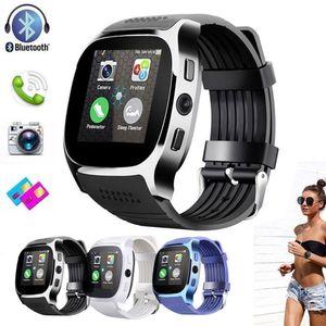 2021 высочайшее качество SmartWatch T8 Bluetooth Smart Watch с камерой Phone Mate SIM-карта шагомер Life Sport Cmarea водонепроницаемые часы браслет для Android iOS