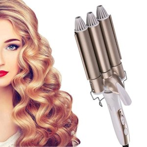 Hair Straighteners Curling Iron Ceramic Professional Triple Barrel Curler Egg Roll Styling Tools Styler Wand Irons