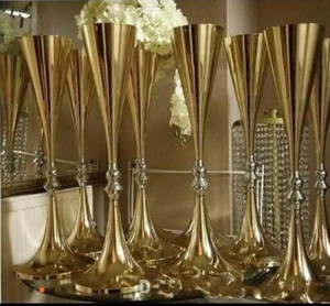 70cm 27 inches tall White Silver Wedding Flower vase Bling Table Centerpiece Sparkling Wedding Decoration Banquet Road Lead Decor