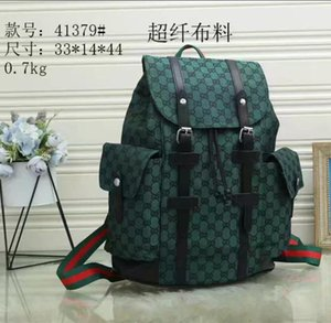 """Fashion Backpack Water Ripple School Bag LV""""Louis""""Vutton GG""""YSL""""Vitton New Style Student for Women Men Schoolbag Travel"""