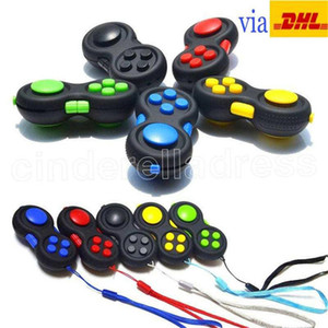 Fidget Pad Second Generation Fidget Cube Hand Shank Game Controllers Finger Toys Decompression Anxiety Toys DHL free shipping