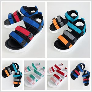 2021 Summer Hawaii Beach sandals for kids shoes boys and girls flip flops baby Beach Children shoes ,size Eur 26-35
