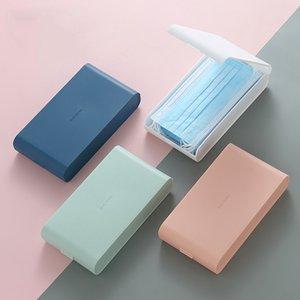 Маска для хранения коробки для хранения большой емкости Flip пряжки коробки Многоцелевые пылезащитные хранилища Boxe Sundly сортировочные коробки