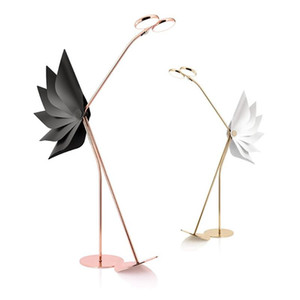 2021 New Design Led Ostrich Floor Lamps Post-modern Nordic Simple Standing Lamps for Living Room Bedroom Home Decor Floor Lights