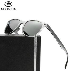 Civílicado Colorido Hombre Al-Mg Conducción Gafas de sol Polarizadas Mujer Espejo Gafas Al Aire Libre Gafas Hipster Hipster Oculos De Sol Gafas E183 X0125