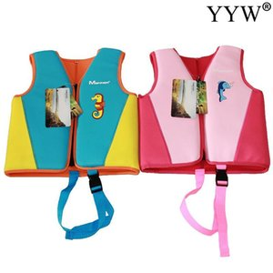 Boy Girl Life Vest Jacket For Child Kids Floating Sunscreen Floating Power Swimming Pool Life Jacket For Drifting Boating