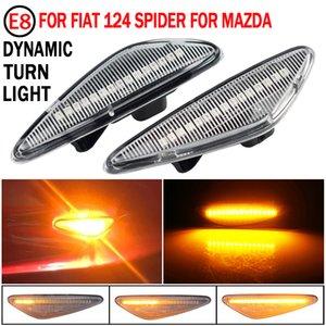 2 stücke Rauch LED Dynamische fließende Seitenmarkierung Signal Licht für Mazda6 GH für Mazda5 CW RX-8 Sequential Side Marker Lichtlampe