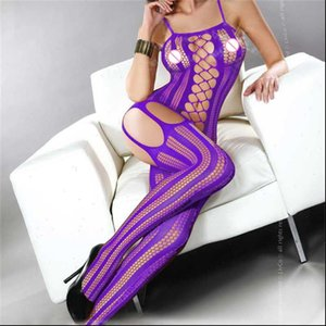 Sexy bodysuits push up Leggings fitness Leggings Gothic Punk Pants female stripe pants bodystocking crotch open bra 4 Color