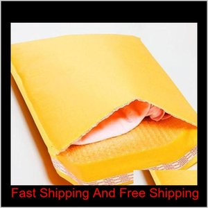 120*180Mm Kraft Paper Bubble Envelopes Bags Bubble Mailing Bag Mailers Padded Shipping Envelope Business Sup Jllmds Gfb7G 3R6Ej