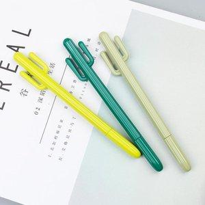 Kreative kleine frische Wüste-Kaktus-Styling-Stift Südkorea-Briefpapier-Karikatur Netter Gel-Stift-Student-Prize-Gel-Pens LLS691