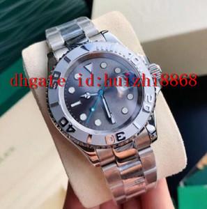 Meilleure vente de la montre en acier inoxydable classique de l'acier inoxydable 40mm d'acier inoxydable boucle de pliage automatique Mechanical Homme Sports Watch