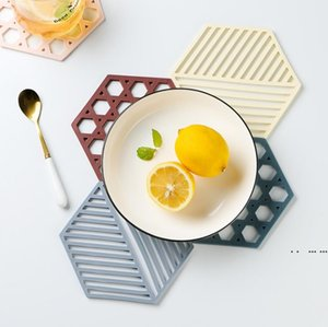Tableware Insulation Mat Cup Coaster Heat-insulated Bowl Pad High heat-resistance Pot Holder For Hot Dishes FWF5426