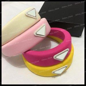Femmes Luxurys Designers Coiffeurs Hoop Coiffeurs Accessoires pour cheveux Filles Classic Triangle Bandeau Bandeau de cheveux Bijoux Cheveux Turban Headwraps 2021