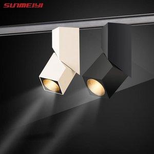 Ceiling Lamp Track Light Spotlight Surface Mounted Aisle Lights Living Room Background Wall Tube Folding Lights Home
