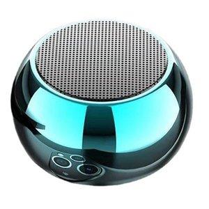 Wireless AI Bluetooth speaker aluminum alloy Mini subwoofer TWS colorful mini audio gift