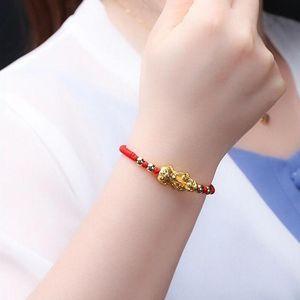 Perlen, Stränge 2021 Pixiu Guardian Armband Bring Luck Wealth Perlen Strang Armbänder Chinese Fengshui Armband Unisex Lucky Wealthy Männer WO
