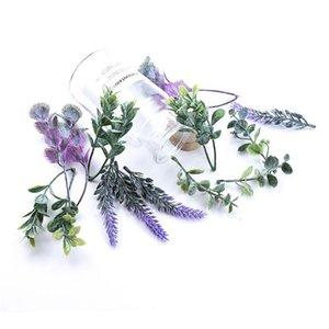 20pcs Vente en gros Plantes artificielles Mariage Bridal Accessoires Screenance Christmas Décorative Fleurs Couronnes Décor D Decor d QYLLBF