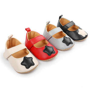 Baby Girls Shoes 0-12M Newborn Shoes Toddler Shoes Spring Autumn Princess Moccasins Soft Baby First Shoe B4087