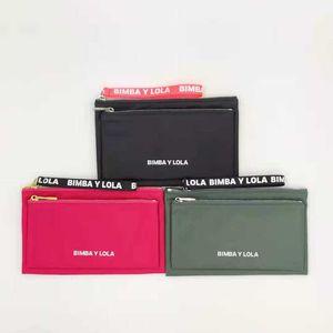 Money Clips Spanish luxury BiMBA y Lola nylon pocket